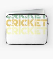vintage cricket - retro cricket  Laptop Sleeve