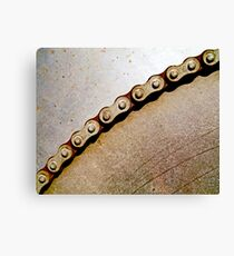 Chain & Sprocket Canvas Print