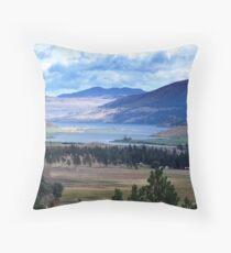 Lake and Nicola Valley Throw Pillow