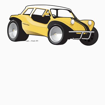 Manxter 2+2 Dune Buggy by hams