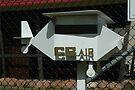 Aeroplane-shaped Letterbox, Albion Park Airport, Australia by muz2142