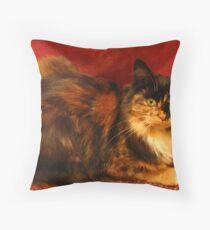 Luscious Lily Throw Pillow