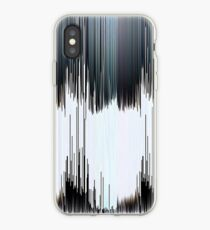 Black and White pixel sort iPhone Case