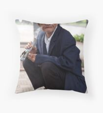 Old High Throw Pillow