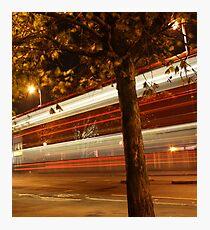 Bus Hoe Photographic Print