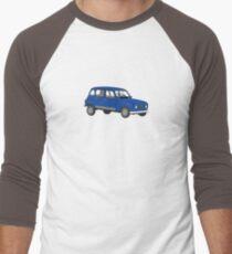 Renault 4 GTL Blue Men's Baseball ¾ T-Shirt