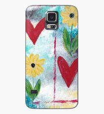 Love & Flowers Case/Skin for Samsung Galaxy