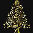 Merry Christmas t-shirt - Beautiful Christmas tree by AleksanderLamek