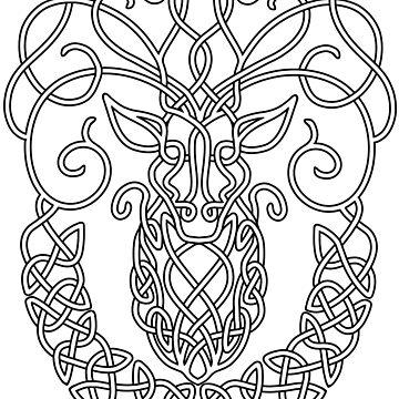 Ciervo celta de Hareguizer