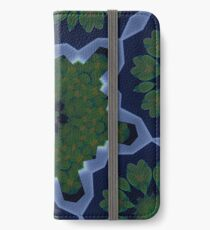 Peas and Ice Pedals Circle Design Offering at Green Bee Mee iPhone Wallet/Case/Skin