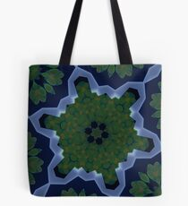 Peas and Ice Pedals Circle Design Offering at Green Bee Mee Tote Bag