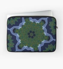 Peas and Ice Pedals Circle Design Offering at Green Bee Mee Laptop Sleeve