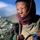 The Tibetan Goat Herd by Kerry Dunstone