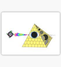 OG illuminati  Sticker