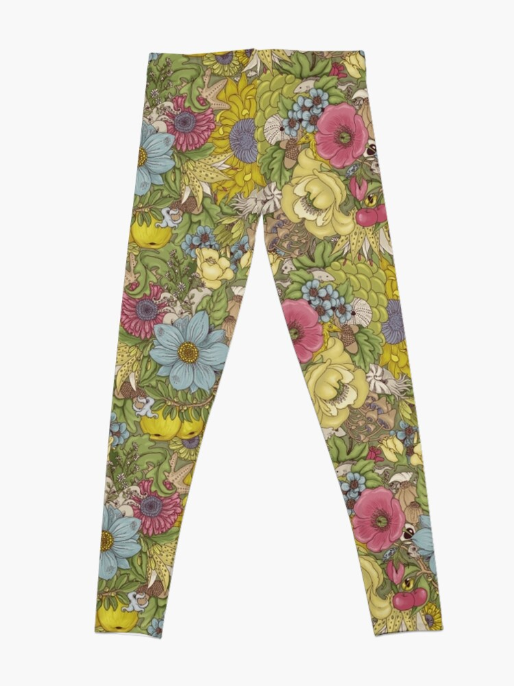 Alternate view of The Wild Side - Spring Leggings