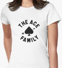 The Ace Family Merch Logo Women's Fitted T-Shirt