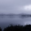 Misty Fife View of the Forth Bridges by Kasia-D