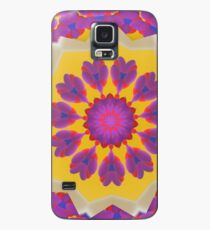 Purple Pedals 3D in the Sun Design Offering at Green Bee Mee Case/Skin for Samsung Galaxy