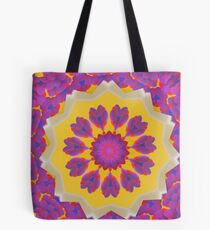 Purple Pedals 3D in the Sun Design Offering at Green Bee Mee Tote Bag