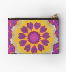 Purple Pedals 3D in the Sun Design Offering at Green Bee Mee Studio Pouch