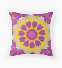 Purple Pedals 3D in the Sun Design Offering at Green Bee Mee Floor Pillow