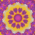 Purple Pedals 3D in the Sun Design Offering at Green Bee Mee by GreenBeeMee