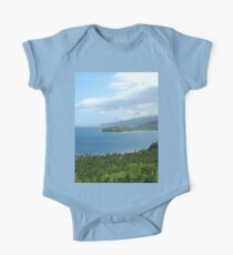 a desolate Philippines landscape One Piece - Short Sleeve