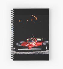 Gilles Villeneuve, Monaco GP, 1981 Spiral Notebook