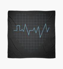 Whovian Heartbeat Scarf