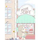 Petite Cafe PRINT by bunnara