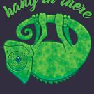 Hang In There Magical Chameleon by fizzgig