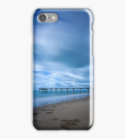 Storm at Torquay Jetty  iPhone Case/Skin