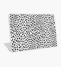 Dalmatiner Spots (schwarz / weiß) Laptop Folie