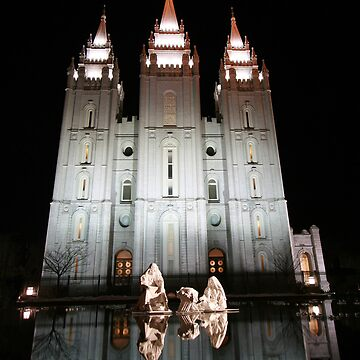 Salt Lake City Temple by BigJess