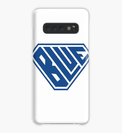 Blue SuperEmpowered (Blue) Case/Skin for Samsung Galaxy