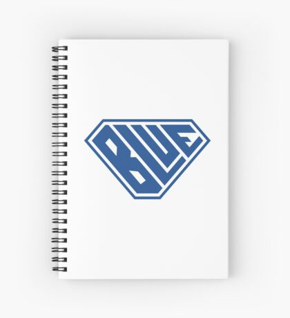 Blue SuperEmpowered (Blue) Spiral Notebook