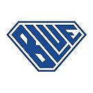 Blue SuperEmpowered (Blue) by Carbon-Fibre Media