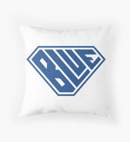 Blue SuperEmpowered (Blue) Throw Pillow