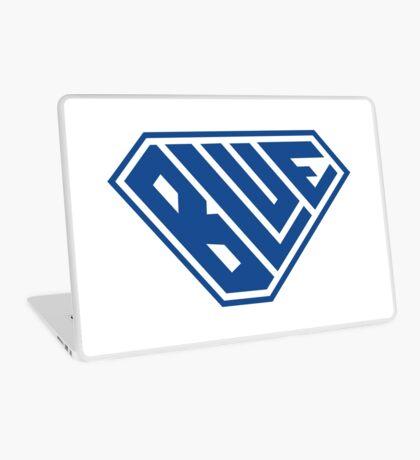 Blue SuperEmpowered (Blue) Laptop Skin