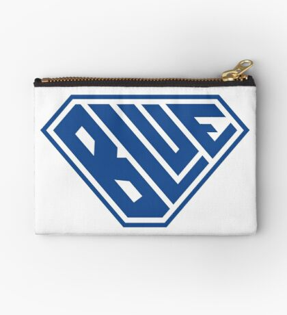 Blue SuperEmpowered (Blue) Zipper Pouch