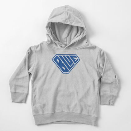 Blue SuperEmpowered (Blue) Toddler Pullover Hoodie