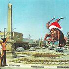 Santa Lobster by Maz Dixon