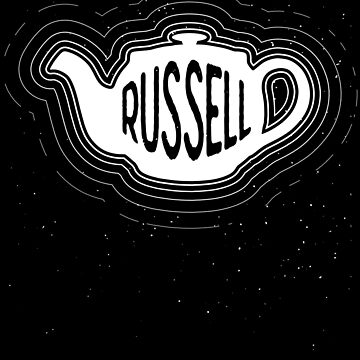 Russells Teapot in Space - Philosophy Gift by The-Nerd-Shirt