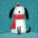 WINTER MUTT by Terry Runyan