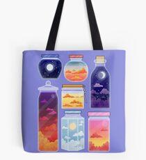 Sky Bottles Tote Bag