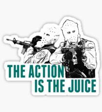 Feel the HEAT Sticker