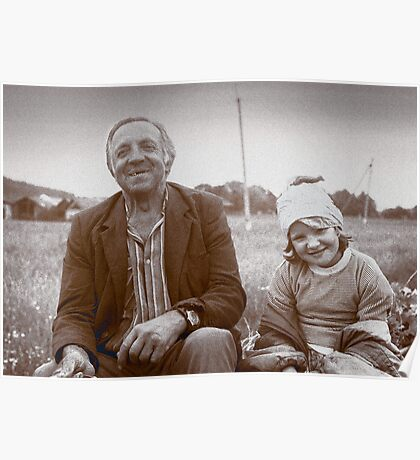 A Man and His Daughter, Ukraine II Poster