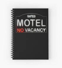 Bates Motel Sign Spiral Notebook