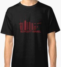 Boycott Israel (tank version)_RED Classic T-Shirt