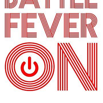 Glasgow Rangers Battle Fever ON by trueblueapparel